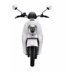 GRACE MATRICULABLE MOTOR BOSCH / 40AH BLANCO BRILLO (DOBLE BATERÍA) SUNRA