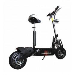 Patinete eléctrico Diablo 1900W Brushless con rueda lisa de carretera