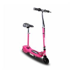 Patinete eléctrico niño 120W rosa